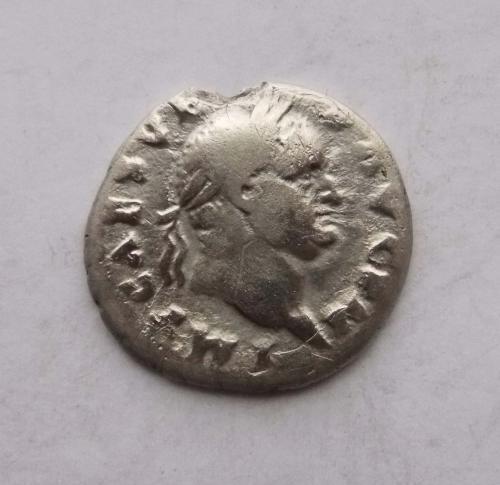 Денарій Веспасіан, набір жреця. Срібло, непоганий.