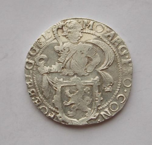Половина Левкового Талера 1646 року, Нідерланди. Срібло, чудовий стан.