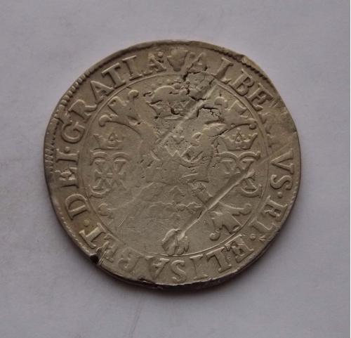 Талер Патагон, без даты. Испанские Нидерланды. Серебро, подлинник.