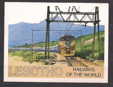 Лесото**, 1984 г.,железнодорожный транспорт