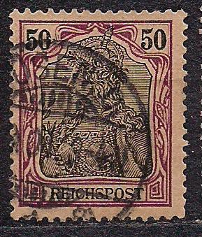 Рейх, 1900 г., !!!, акция 20% каталога, стандартный выпуск посвященный 100-летию Германии, марка №61