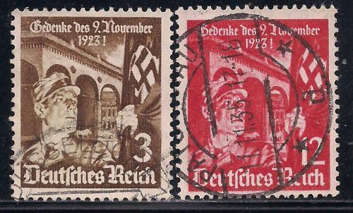 Рейх, 1935 г., история, годовщина похода к Федхеррнхалле