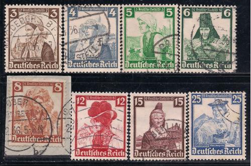 Рейх, 1935 г., история, национальные одежды