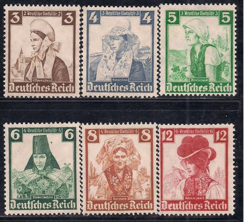 Рейх**, 1935 г., история, национальные одежды