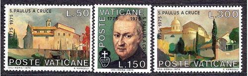 Ватикан**, 1975 г., 200 лет со дня смерти Паулюса Круса