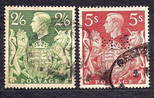 Великобритания, 1939 г., король Георг 6 в большом формате