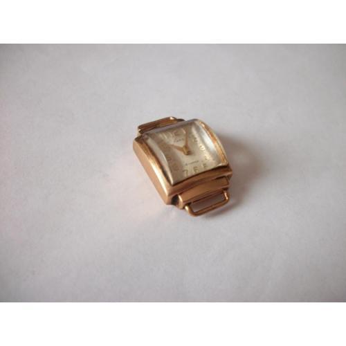 Золотые женские часы Лира, 16-камней, [вес 10,6-грамм] проба-583 [вес золота 4,1-4,2-грамма]