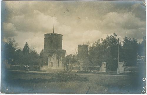 Аскания-Нова Водонапорная башня 1935 год Фото Открытка СССР Украина