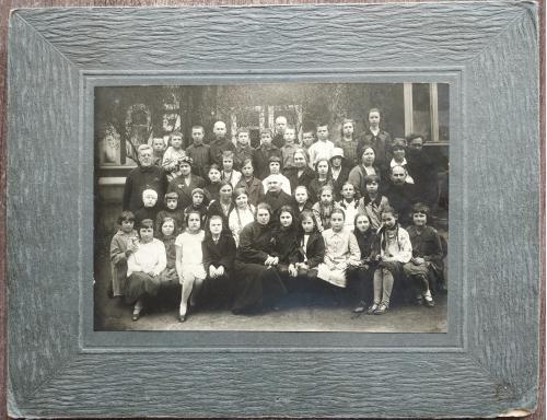 Фото Школьники 1920-30 годы Мода Одежда Девочка Мальчик Пропаганда Соцреализм СССР Винтаж