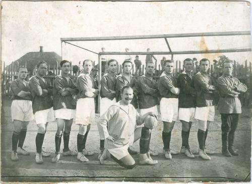 Футбол Фото начала 20 века Спорт Винтаж