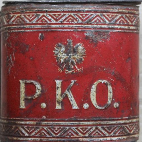 Копилка для монет Польша Почтовый Банк РКО 1920-е годы Винтаж Реклама