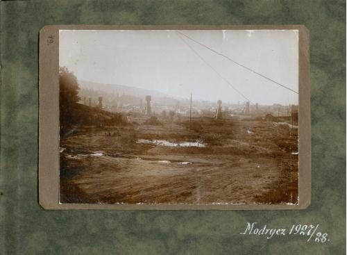 Нефть Модрычи Фото Альбом 1927-28 год Дрогобыческий район Львовская область Мodrycz Польша Украина