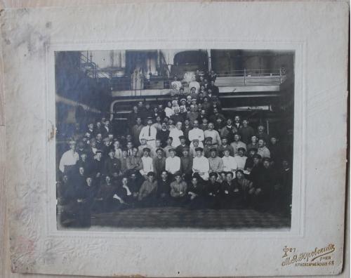Сахарный завод Каменогорка Дашев Винницкая область Ильинецкий район 1926 год Фотограф Юровский Киев