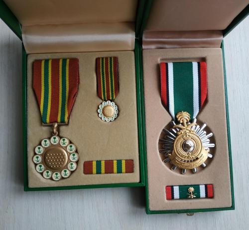 Саудовская Аравия Медаль За храбрость в бою За освобождение Кувейта