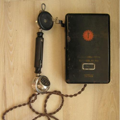 Старинный Телефон Шведско Датско Русское акционерное общество Эриксон Ericsson & Co Stockholm