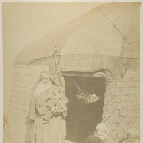 Текинские типы Средняя Азия Туркменистан Российская Империя Фото Фотограф А. Энгель Тифлис