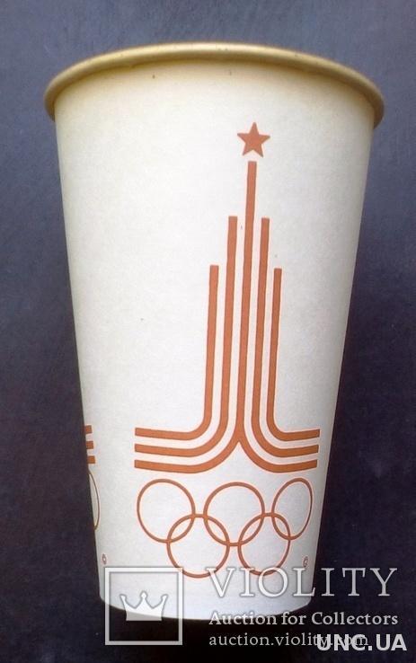 Олимпиада 80. стакан для пепси.