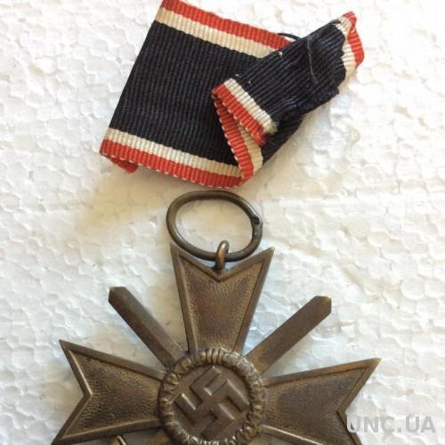 Оригинальная награда третий рейх с номером на кольце