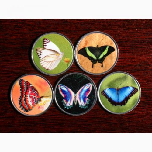 Набор монет Бабочки 2020 Палау
