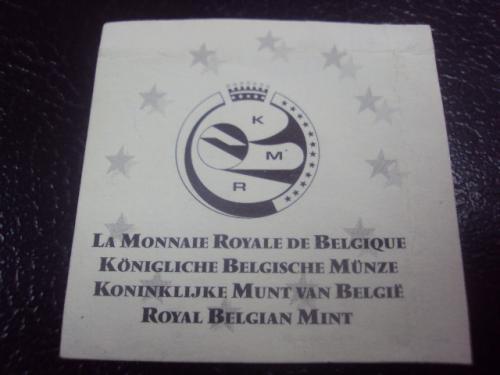 бельгия сертификат №4176
