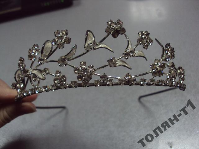 бижутерия украшение для волос корона