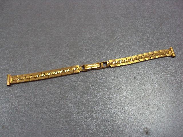 браслет к наручным часам позолота ау12 №2