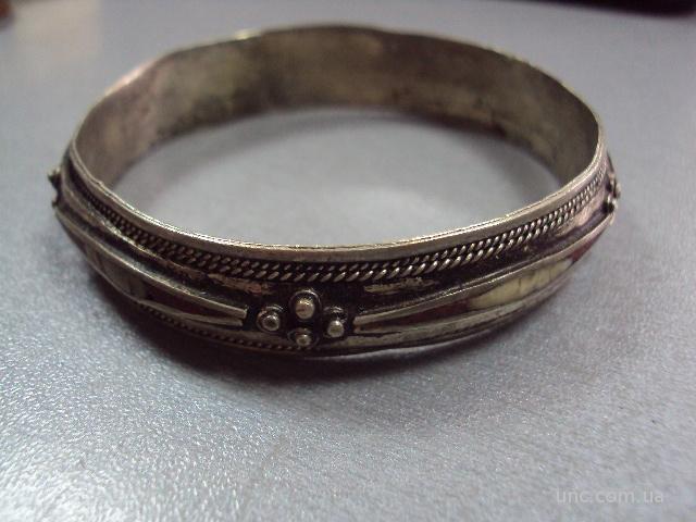 браслет мельхиор внутр. диаметр 6,7 см винтаж