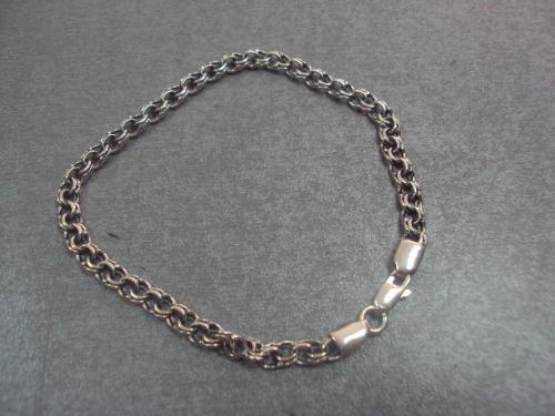 браслет серебро 6,85 г размер 21,5