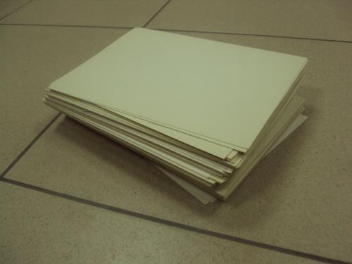 бумага для рисования  лот №8037