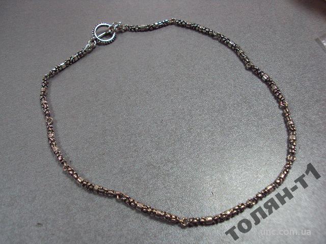 "цепочка цепь ожерелье серебро 1000"" 33,55 г"