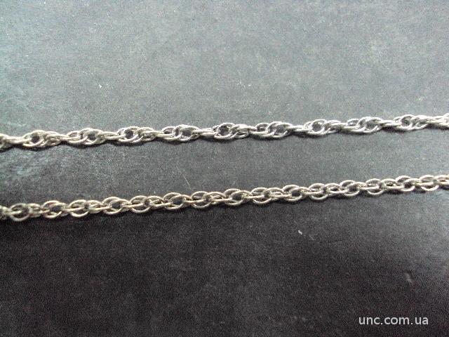 """цепочка серебро 925"""" украина 5.83 г  60 см"""