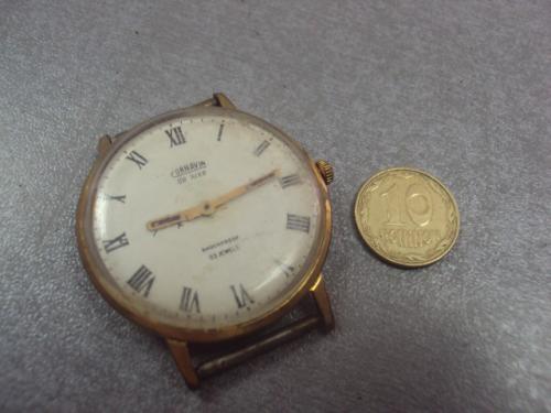часы наручные циферблат механизм cornavin de luxe корнавин де люкс позолота ау12,5 №9