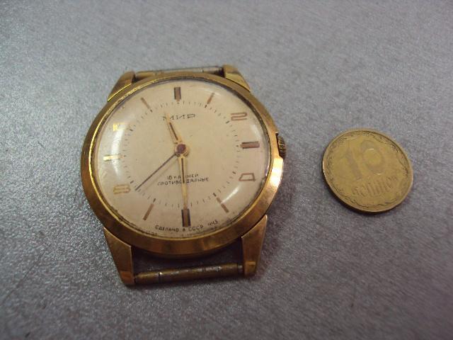 часы наручные циферблат механизм мир №205