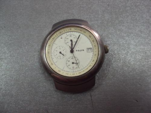 часы наручные хронограф hapa тахометр мужские кварц №3047