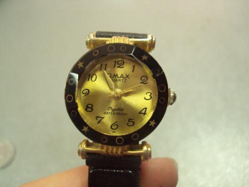 часы наручные omax crystal кварц водонепроницаемые №370
