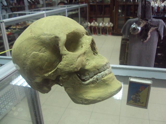 череп папье маше