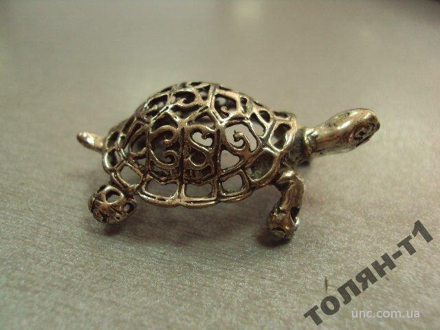 "черепаха черепашка серебро 800"" 7,16 г"