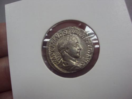 денарий рим 222-223 год №390