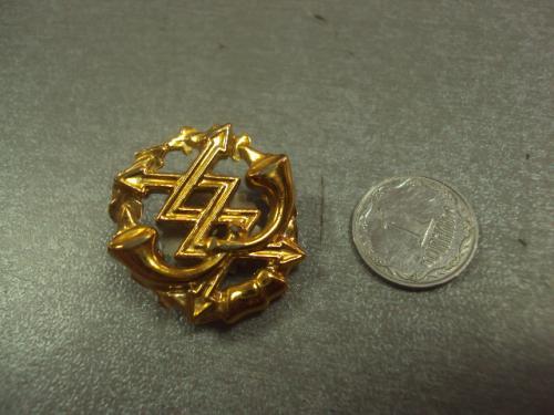 эмблема петлица вс украина связь №14996