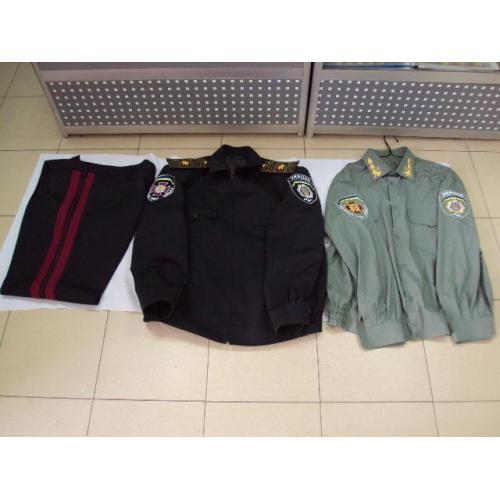 Форма генерал внутренних войск Украина МВС вышитые эмблемы вышивка №11158
