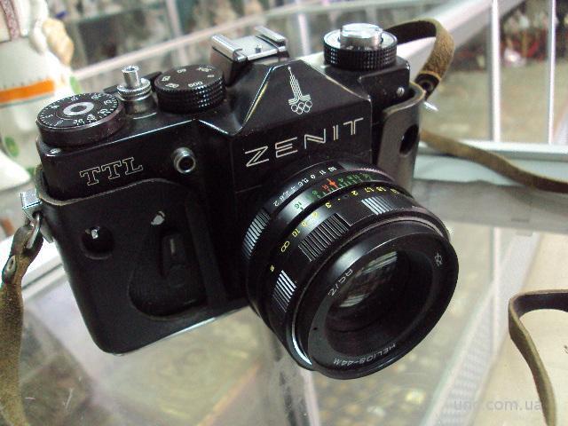 фотоаппарат зенит олимпиада zenit ttl объектив helios-44m
