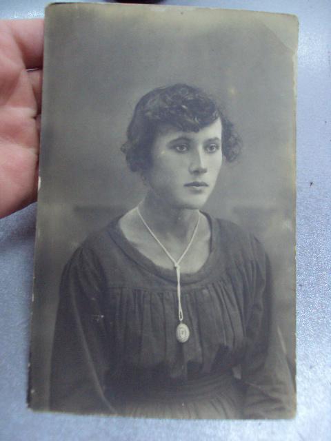 фотография девушка 1925 №1251
