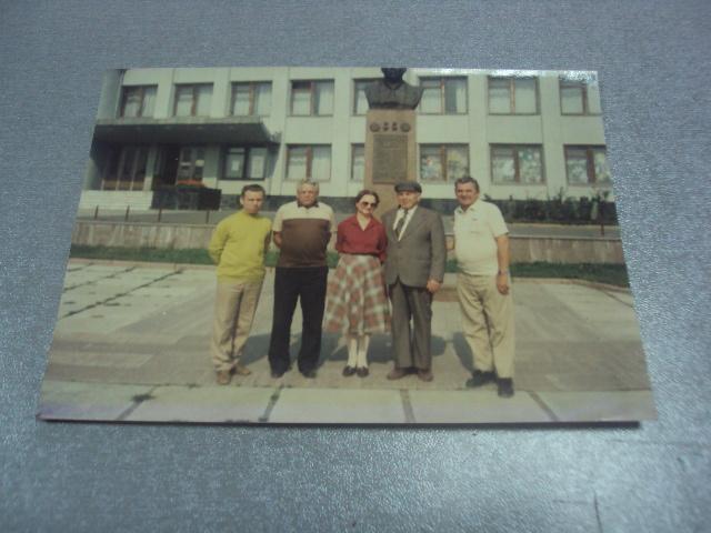 фотография дважды герой соц.труда ткачук г.и. с.лесоводы возле памятника №436