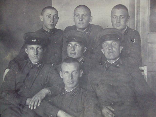 фотография курсанты 1-е Киевское артиллерийское училище 1938 №1285