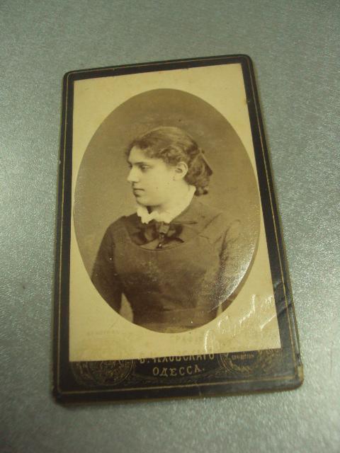 фотография портрет девушка одесса чеховского 10.5х6.5 №6585