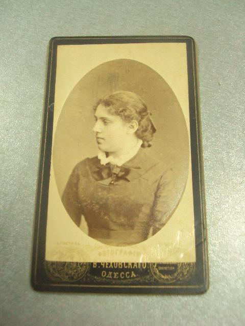фотография портрет девушка одесса чеховского 10.5х6.5 №6586