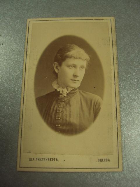 фотография портрет девушка  одесса лихтенберга 10.5х6.5 №6597