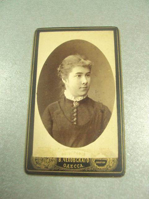 фотография портрет девушки одесса чеховского 10.5х6.5 №6591