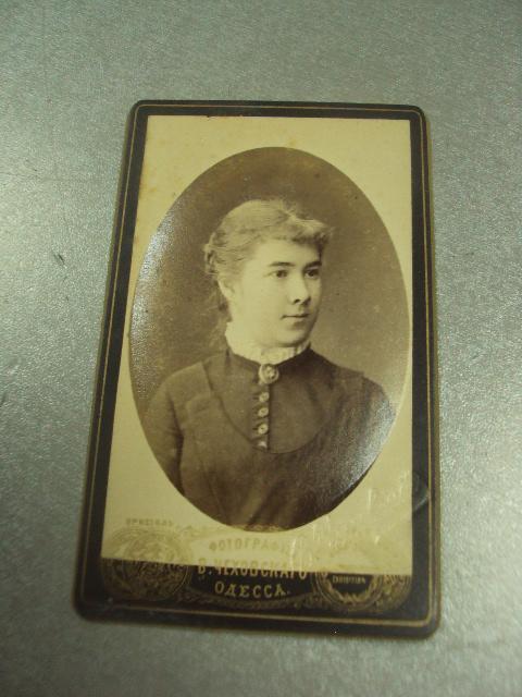 фотография портрет девушки одесса чеховского 10.5х6.5 №6592