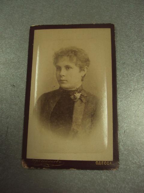 фотография портрет девушки одесса горельникова 10.5х6.5 №6593